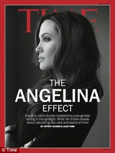 A - angelina effect
