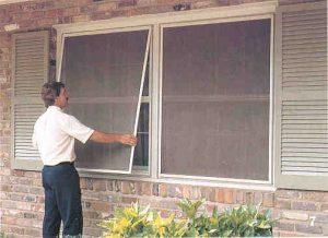 Window Screen, salah satu alat untuk menghindari gigitan nyamuk