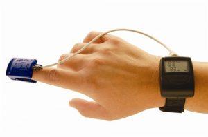 wrist worn pulse oximeter dok turnermedical
